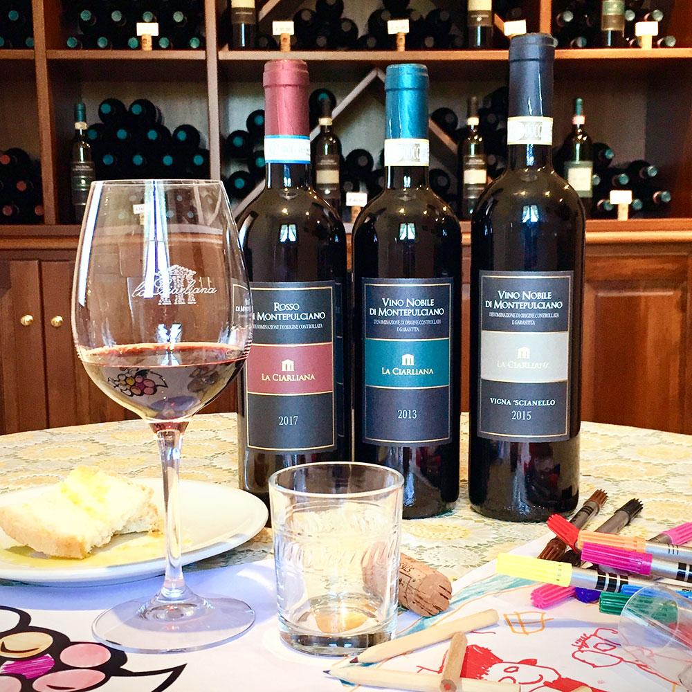 Wine tourism Funny family wine